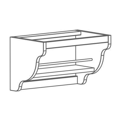 Mobilier lemn masiv - Suport folie Venetia-5