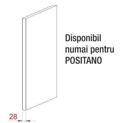 Mobilier lemn masiv - Panou terminal Positano