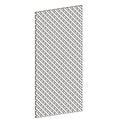 Mobilier lemn masiv - Panou grilaj pentru ramă Sorrento-1
