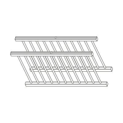Mobilier lemn masiv - Suport farfurii (pereche) Rialto