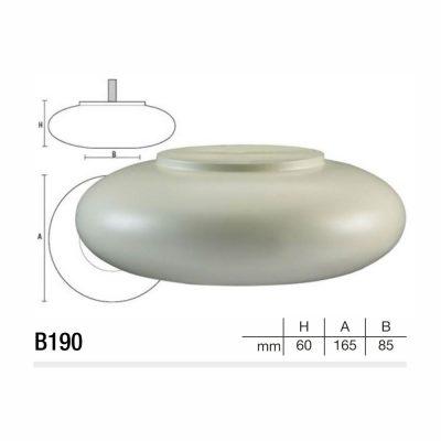 Mobilier lemn masiv - Picioare mobilier B190 Picioare mobilier