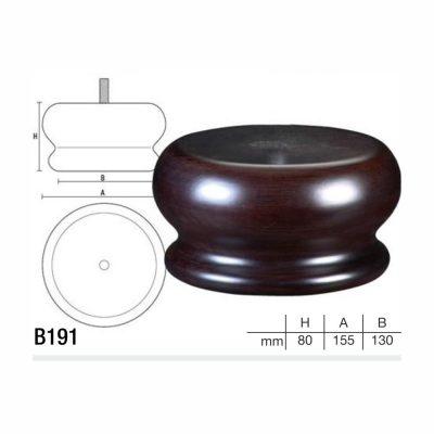Mobilier lemn masiv - Picioare mobilier B191 Picioare mobilier